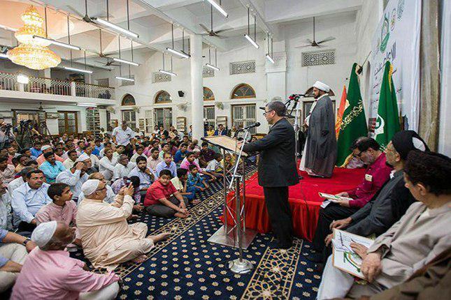 تصویر برگزاری محافل قرآنی در هند