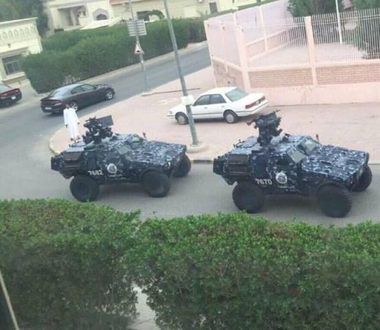 تصویر خنثی نمودن حملات تروریستی در کویت