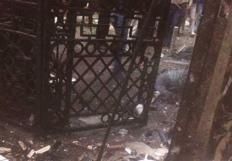 تصویر انفجار تروریستی در کلیساهای شمال مصر