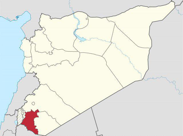 تصویر هلاکت ۷۵ عنصر النصره از جمله چندین سعودی و اردنی در درعا