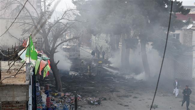 تصویر ۱۵ کشته و زخمی در نتیجه حمله انتحاری داعش در کابل