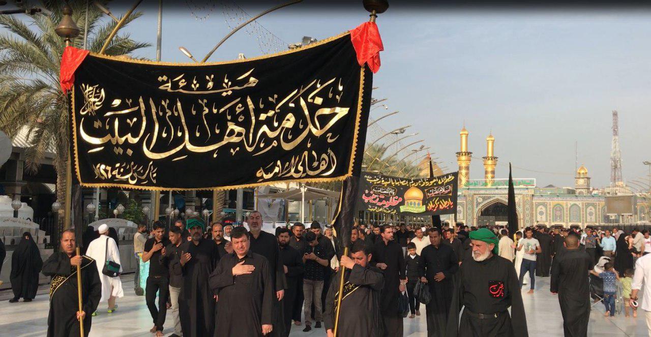 تصویر گزارش تصویری ـ عزاداری شیعیان در سالروز شهادت «حضرت زینب کبری سلام الله علیها» در حرمین شریفین شهر مقدس کربلا