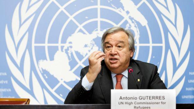 تصویر واکنش سازمان ملل متحد به قربانی شدن شیعیان فوعه و کفریا
