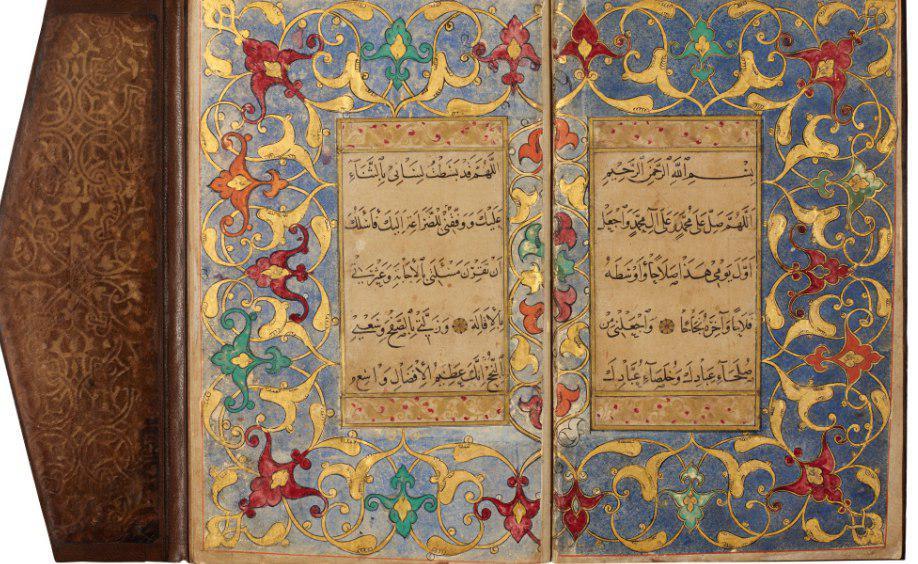 تصویر قرآنهای خطی در حراجی «سوتبی» لندن