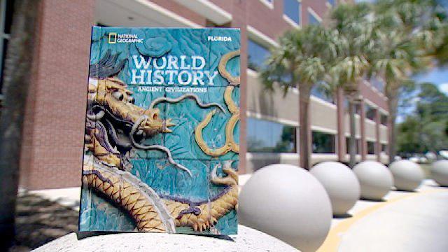 تصویر حذف اسلام از کتاب تاریخ دانش آموزان آمریکایی