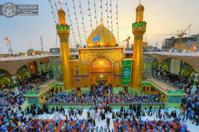 تصویر موفقیت طرح ویژه عید سعید مبعث در نجف اشرف