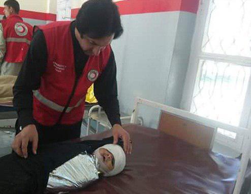 تصویر ۱۴ شهید و ۱۱ زخمی در پی انفجار در منطقه کورم ایجنسی پاکستان