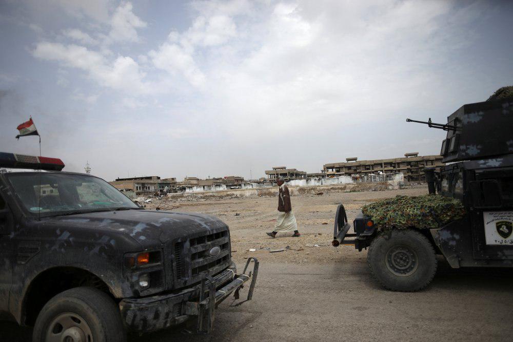 تصویر آغاز عملیات پاکسازی مناطق شرق سامرا