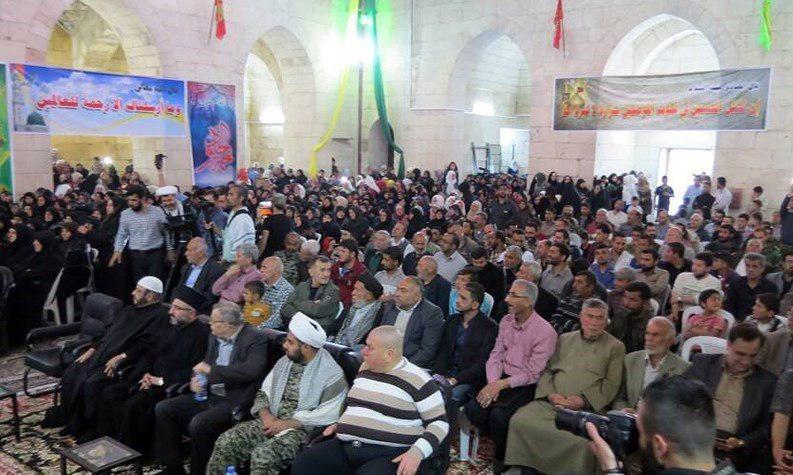 تصویر بازگشایی زیارتگاه «مشهد الحسین علیه السلام» پس از 5 سال در حلب