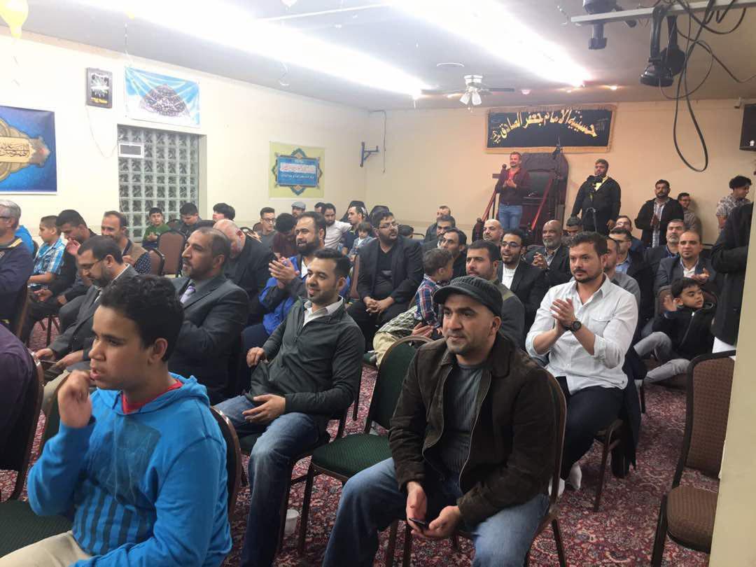 تصویر بزرگداشت اعیاد شعبانیه در مرکز امام صادق علیه السلام ایالت میشیگان آمریکا