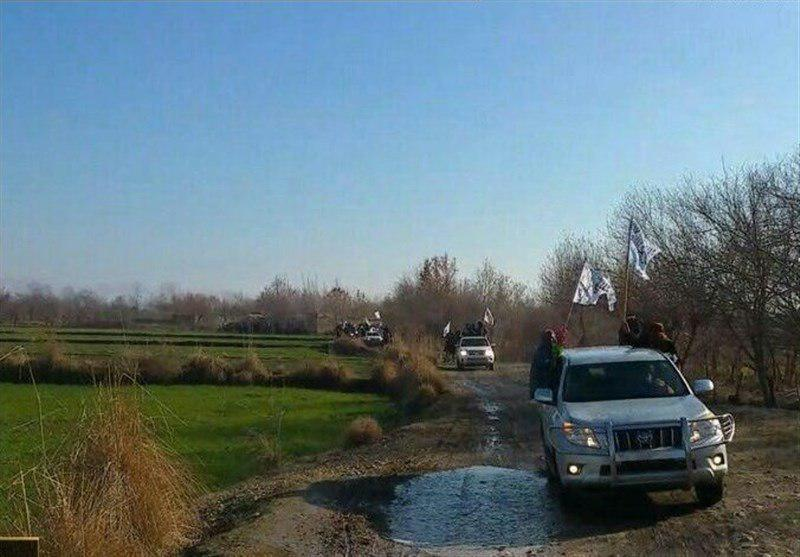تصویر منطقه قلعه زال افغانستان به اشغال طالبان درآمد