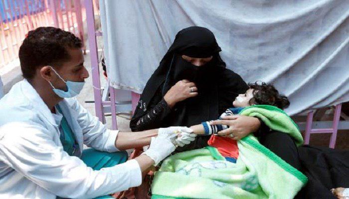 تصویر ١١٥ تن ديگر، قربانى بيماري «وبا» در يمن