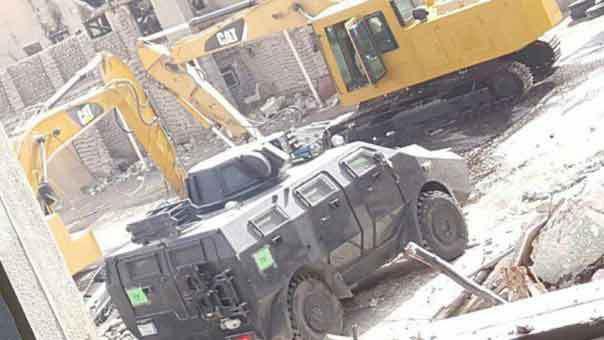تصویر تیراندازی و تخریب نظامیان سعودی در العوامیه عربستان