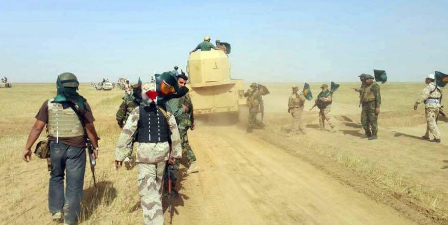 تصویر چند قدم تا آزادى شهر موصل عراق از چنگال سنی های تندرو