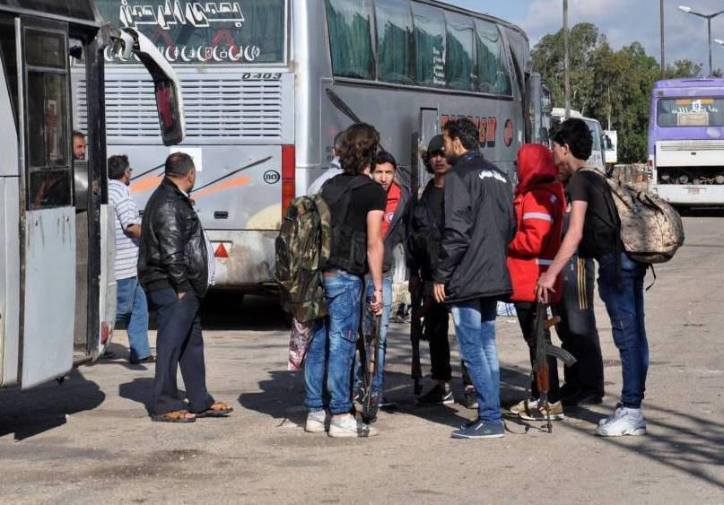تصویر ارتش سوریه در آستانه تسلط کامل بر شهر «حمص»