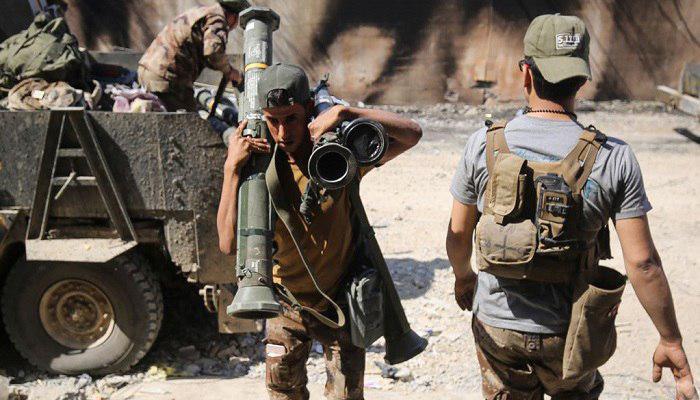 تصویر بازداشت مسئول جذب نیروی تروریست های داعش، در استان «صلاح الدین» عراق