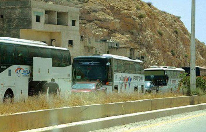 تصویر شهر برزه در کنترل ارتش سوريه