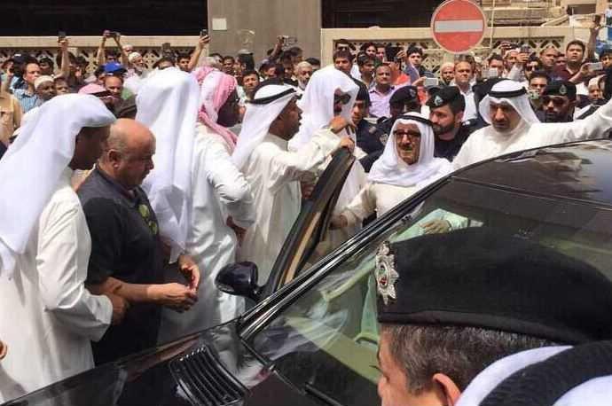 تصویر برگزاری مراسم گرامیداشت یاد شهیدان انفجار تروریستی مسجد شیعیان کویت