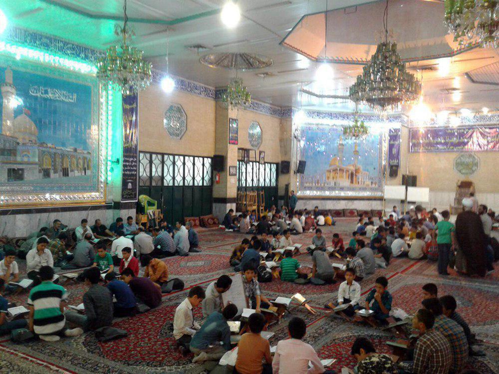 تصویر فعالیت های گوناگون و متنوع موسسات تابع مرجعیت در ماه مبارک رمضان