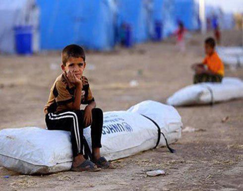 تصویر هشدار یونیسف نسبت به خطر مرگ ۱۰۰ هزار کودک در غرب موصل