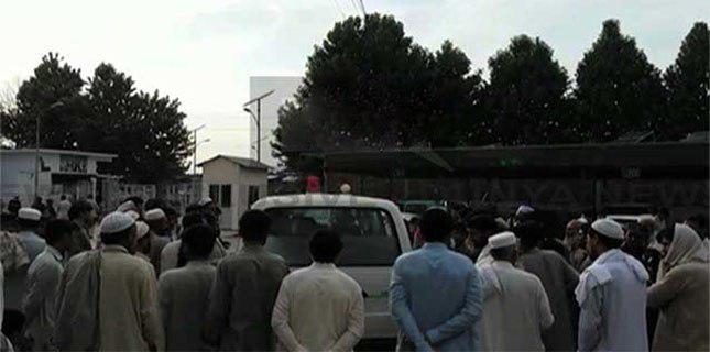 تصویر انفجار تروریستی در باجور پاکستان