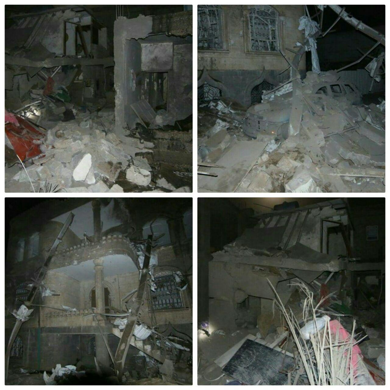 تصویر شهادت دلخراش ۴ عضو یک خانواده یمنی در حمله جنگندههای سعودی