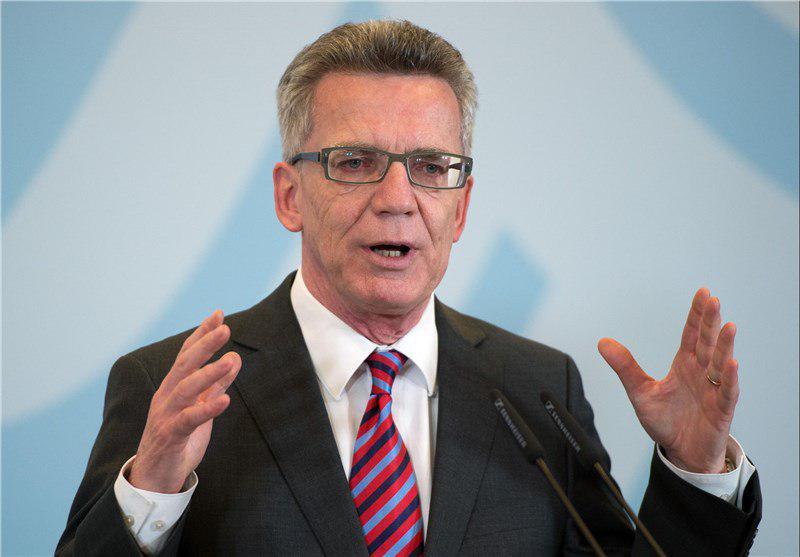 تصویر وزیر کشور آلمان: لزوم اقدامات گسترده تر برای مقابله با تروریسم