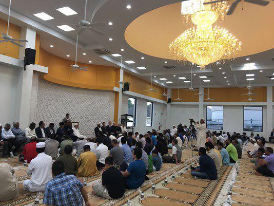 تصویر افتتاح یک مسجد جدید در تگزاس