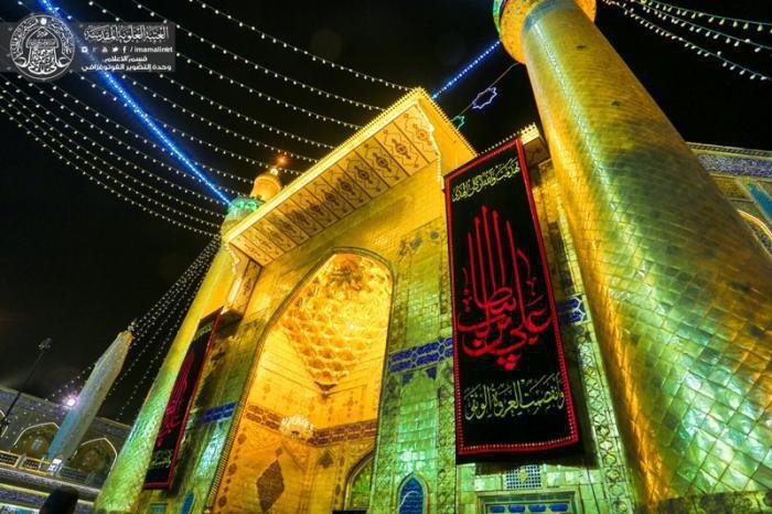 تصویر اولین شب قدر ماه رمضان، و واقعه عظیم ضربت خوردن امیرالمومنین علیه السلام
