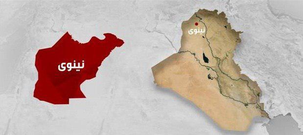 تصویر پیشروی نیروهای عراقی در موصل