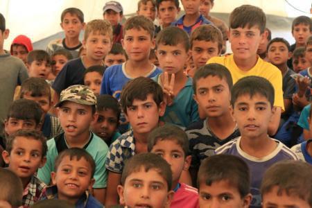 تصویر کودکان قربانیان اقدامات تروریست داعش درعراق