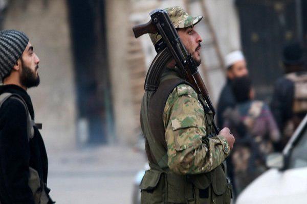 تصویر حمله خمپارهای تکفیریها به غیرنظامیان در حلب