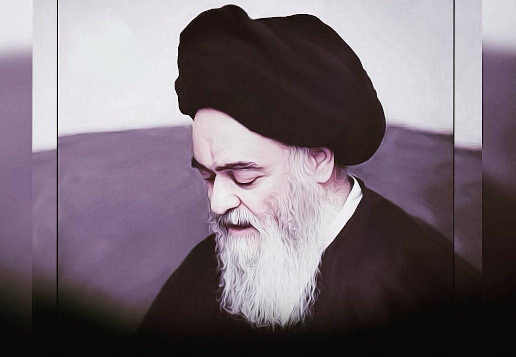 تصویر شانزدهمین سالگرد ارتحال آیت الله العظمی سید محمد شیرازی در شهر مقدس قم