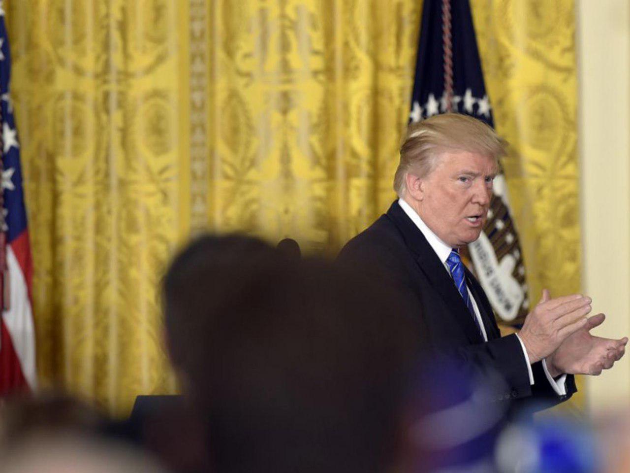 تصویر ضیافت افطار در کاخ سفید برگزار نشد