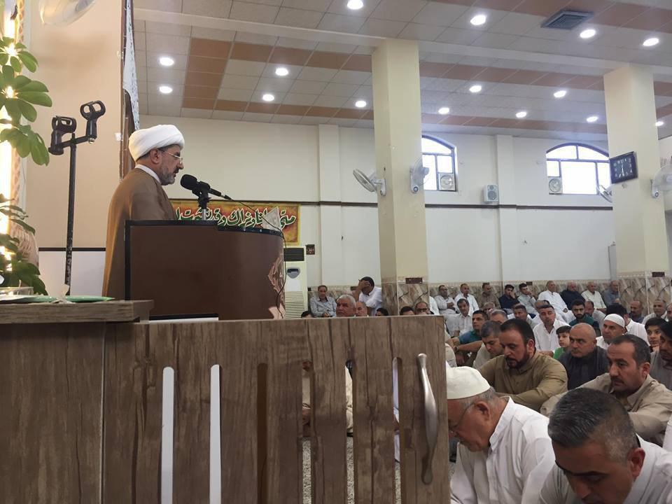 تصویر گزارش تصویری ـ  برپایی نماز عید سعید فطر توسط شیعیان شهر کرکوک عراق