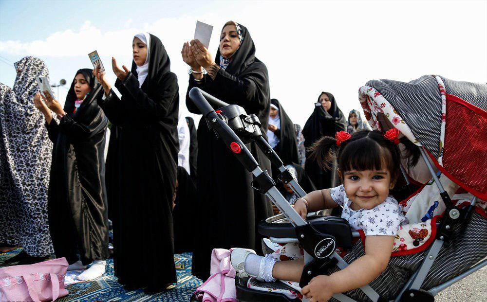 تصویر گزارش تصویری ـ برپایی نماز عید سعید فطر در در حرم «عبدالعظیم حسنی علیه السلام» در شهر تهران