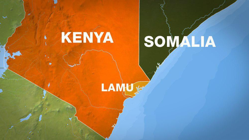 تصویر انفجار یک بمب در کنیا