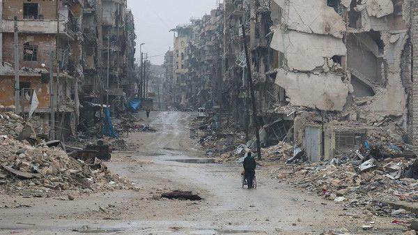 تصویر عقب نشینی کامل داعش از حلب