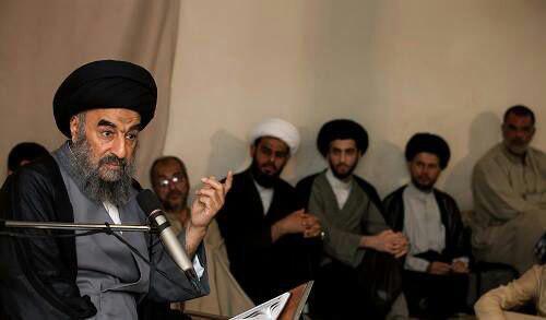 تصویر آیت الله العظمی مدرسی: تنها راه حل بحرانهای منطقه گفتگو است