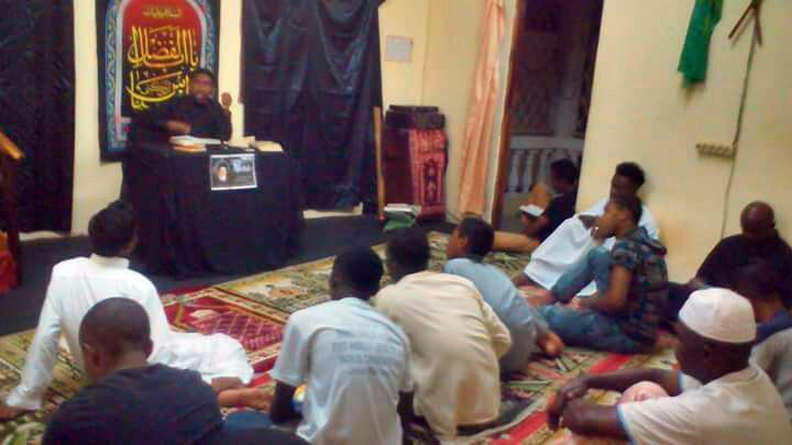 تصویر سالگرد ارتحال آیت الله العظمی سید محمد شیرازی در ماداگاسکار