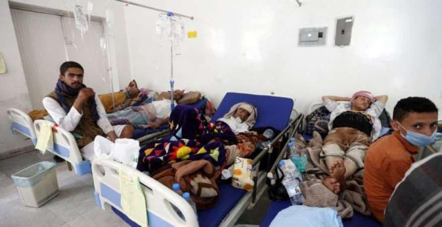 تصویر افزایش شمار قربانیان وبا در یمن