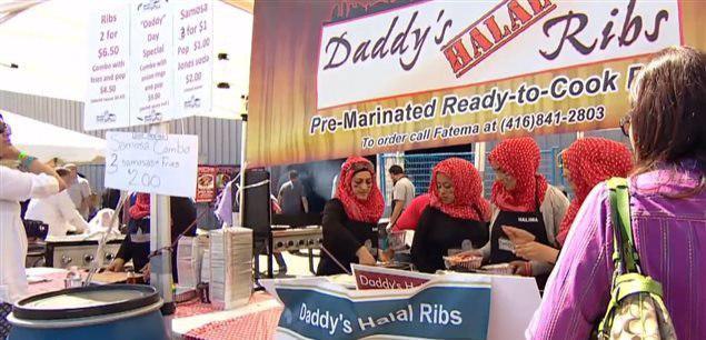 تصویر جشنواره بزرگ غذای حلال در تورنتو