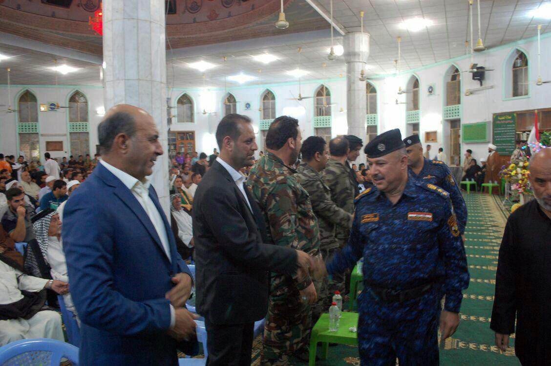 Photo of حضور مدیر مرکز فرهنگی ـ اسلامی بغداد در مراسم جشن آزادسازی شهر موصل
