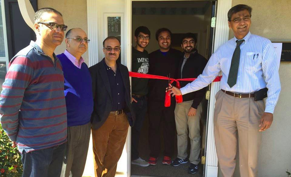 تصویر راه اندازی درمانگاه رایگان توسط دانشجویان مسلمان