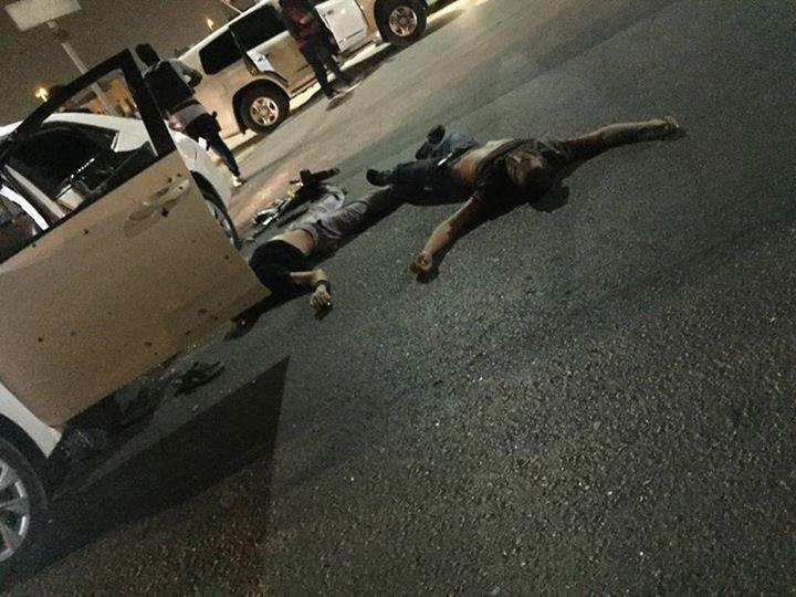 تصویر شهادت سه شهروند شیعه در حمله نظامیان عربستانی به قطیف