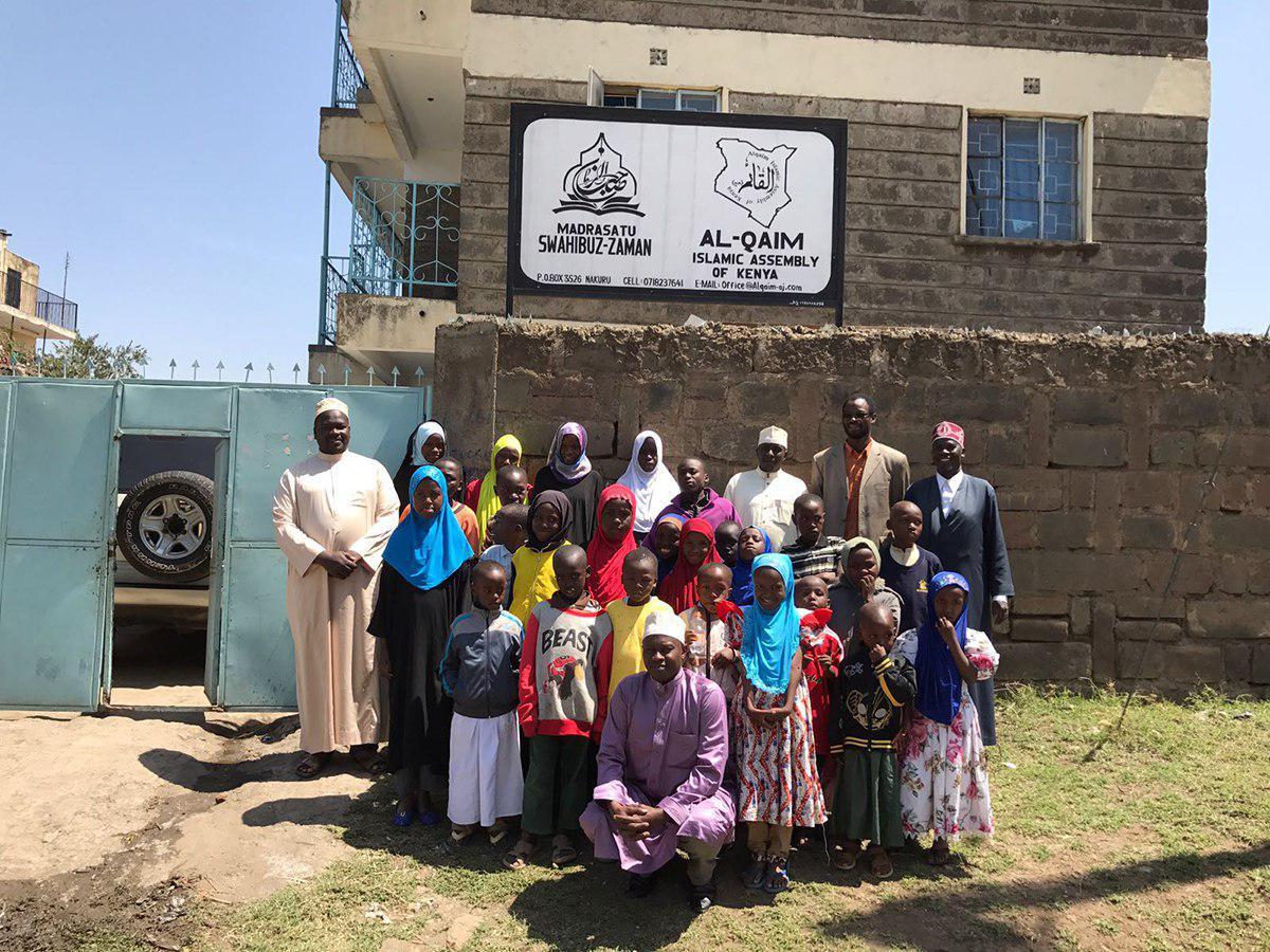 تصویر افتتاح مدرسه علمیه ویژه ایتام در کشور کنیا