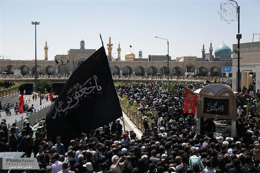 تصویر گزارش تصویری ـ عزاداری شیعیان به مناسبت شهادت «امام صادق علیه السلام »در حرم مطهر رضوی شهر مقدس مشهد