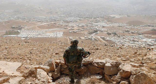 تصویر انهدام مقر فرماندهی و ارتباط داعش در حومه حمص