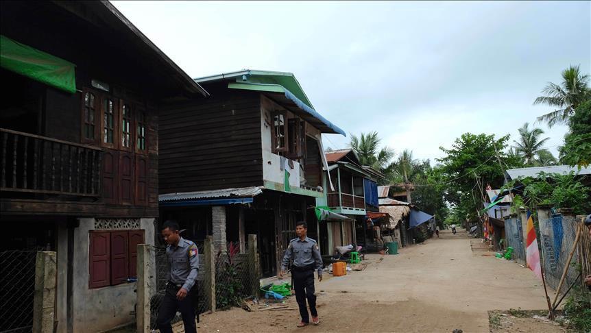 تصویر اسلامستیزی جدید در میانمار/ خانهای به تصور مسجدبودن تخریب شد