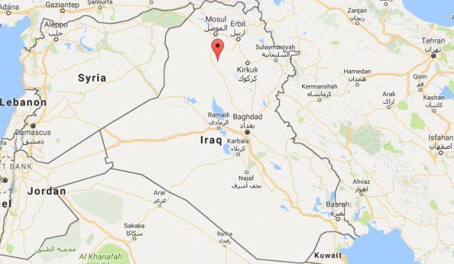 تصویر هلاکت داعشی ها در حمله به الشرقاط